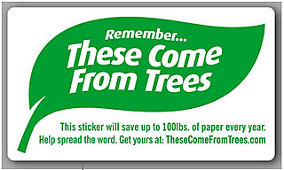 Trees stickers