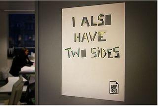 Use Both Sides