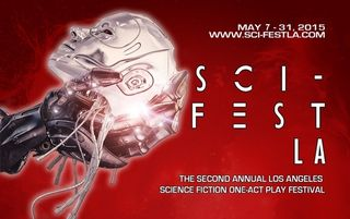 Sci-Fest Postcard